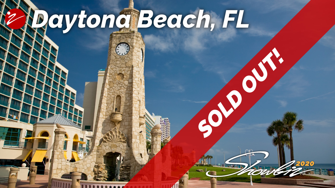 Showbiz 2020 Daytona Beach, FL Event