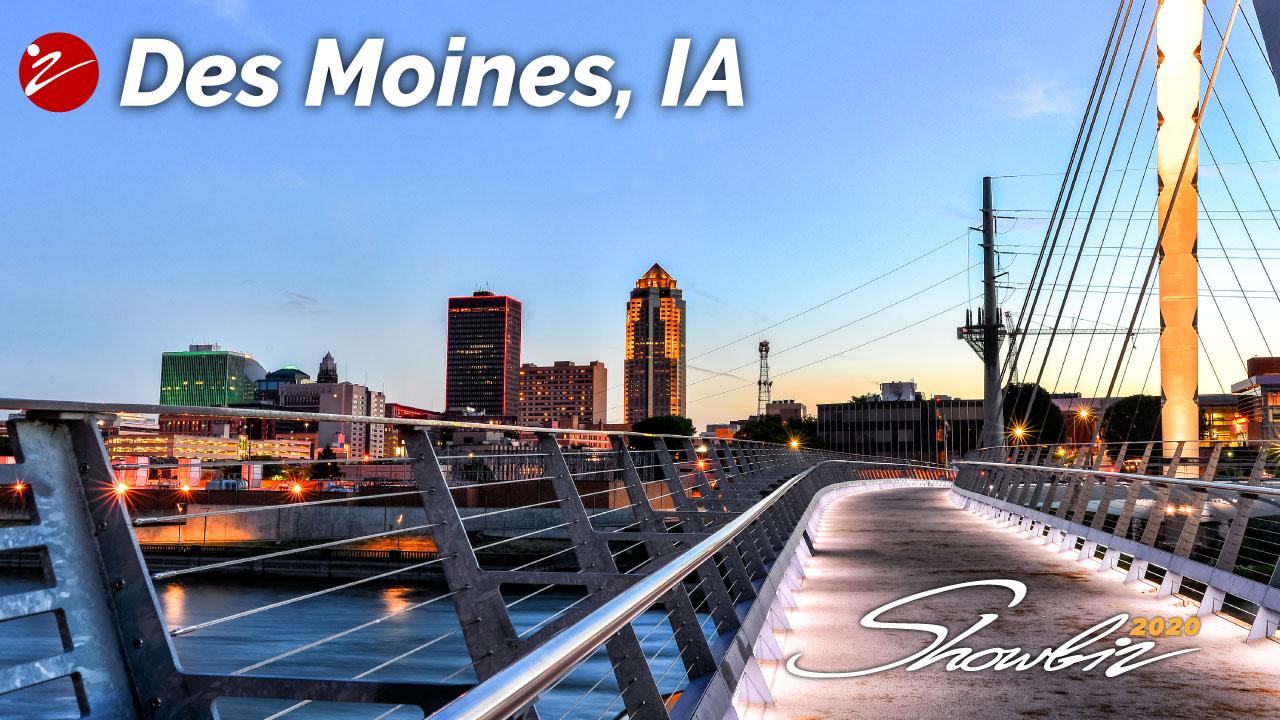 Showbiz 2020 Des Moines, IA Event