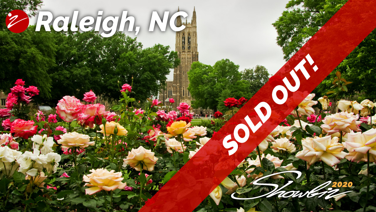 Showbiz 2020 Raleigh, NC Event