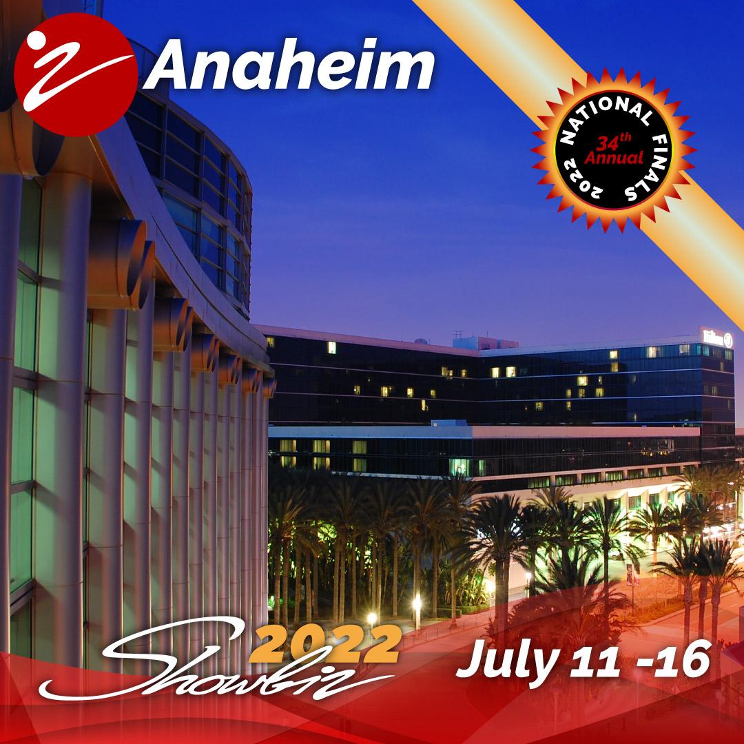 2022 Showbiz Anaheim Nationals Event